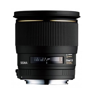 Sigma 24mm f-1.8 EX Aspherical DG DF Macro Prime Lens for Sony
