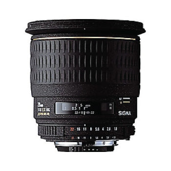 Sigma 28mm f-1.8 EX Aspherical DG DF Macro Prime Lens for Nikon
