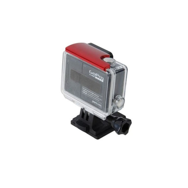 SHILL Gopro Aluminum Hero4, Hero3+ Back Door Clip (Red)