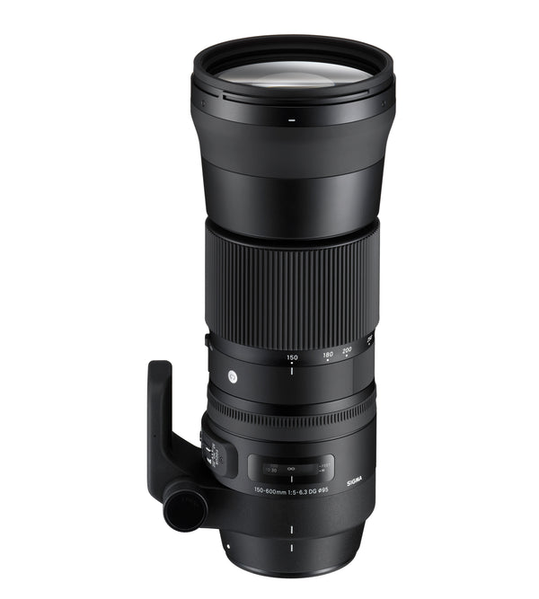 Sigma 150-600mm f-5-6.3 DG OS HSM Contemporary Lens for Nikon with Kit