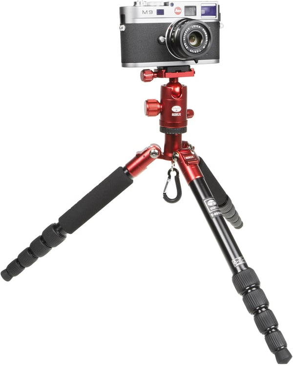 Sirui T-005X Aluminum Tripod Kit (Red)