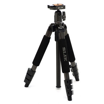 Slik Sprint Mini II Aluminum Tripod (Gunmetal Finish) with SBH-100Q Ball Head