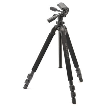 Slik Pro 500 HD AMT Alloy Tripod with SH-736HD 3-Way Pan Head
