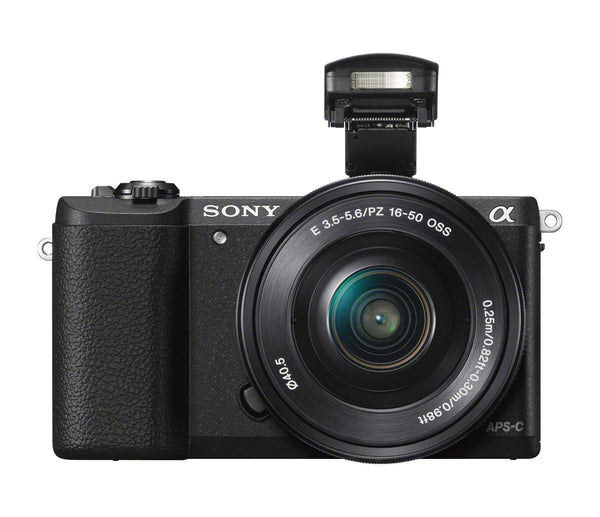 Sony Alpha a5100 Mirrorless Camera with 16-50mm Power Zoom Lens