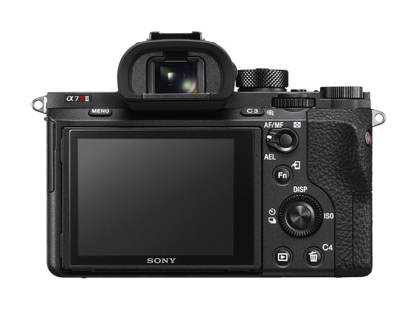Sony Alpha a7R II Mirrorless Camera with 42.2MP Full-Frame Sensor