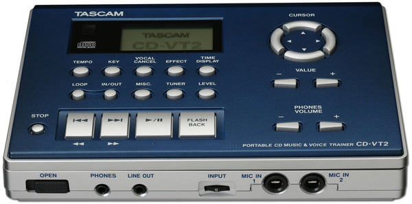 Tascam CD Music & Voice Trainer CD-VT2