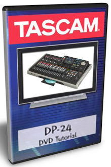 Tascam DVD Tutorial for DP-24