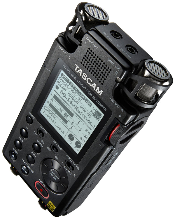 Tascam Linear PCM Recorder DR-100MkIII