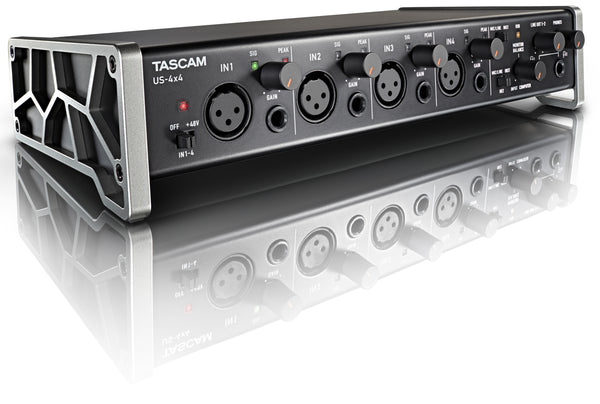 Tascam 4X4 Channel USB Audio Interface US-4x4