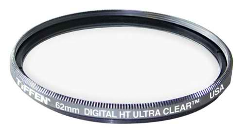 Tiffen 62mm HT Ultra Clear Titanium