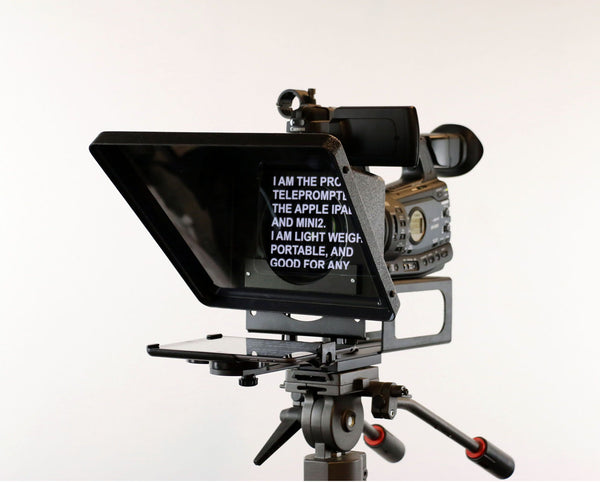 Telmax Teleprompters Pro iP EXM iPad Mini Teleprompter