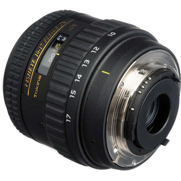 Tokina 10-17mm f-3.5-4.5 AT-X AF SD IF Fisheye Lens (Nikon DX-Mount)
