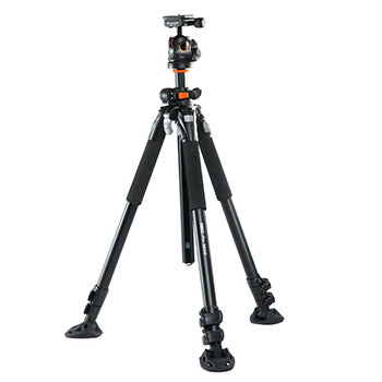 Vanguard Aluminum Tripod with     BBH-200