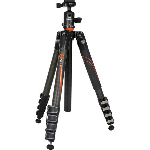 Vanguard Carbon Fiber Tripod with 5 Section Legs and Ball Head
