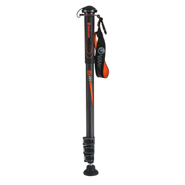 Vanguard Carbon Fiber Monopod with 4 Leg Sections