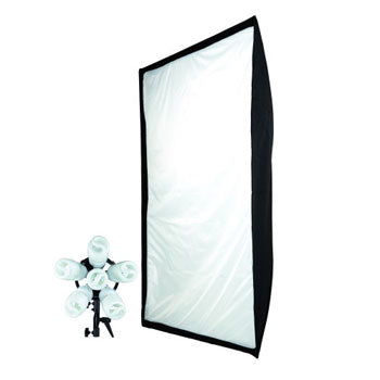 "Westcott SpiderLite TD6 Constant Light with 36""x48"" Large Shallow Softbox Kit"