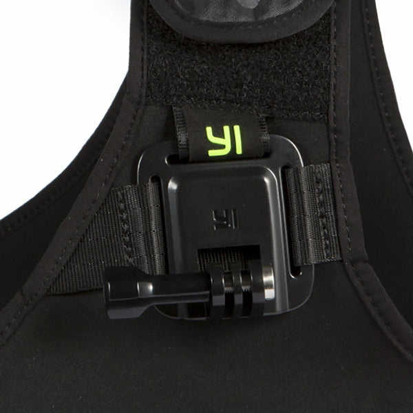 YI Action Camera Chest Mount (Black-Camo)