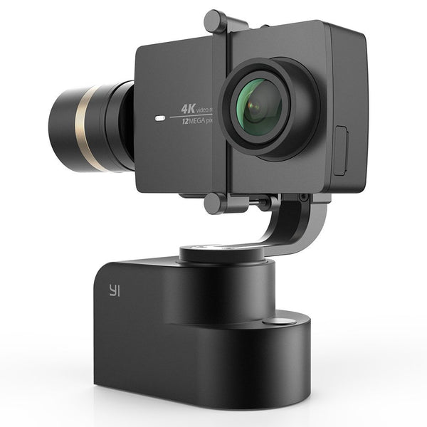 YI 4K Action Camera Kit with Gimbal (Black)