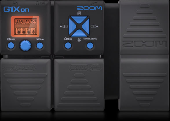 Zoom G1XON Guitar Multi Effects Pedal