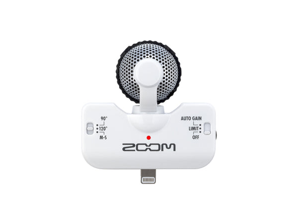 Zoom Lightning Stereo Microphone for iOS Devices (Black)