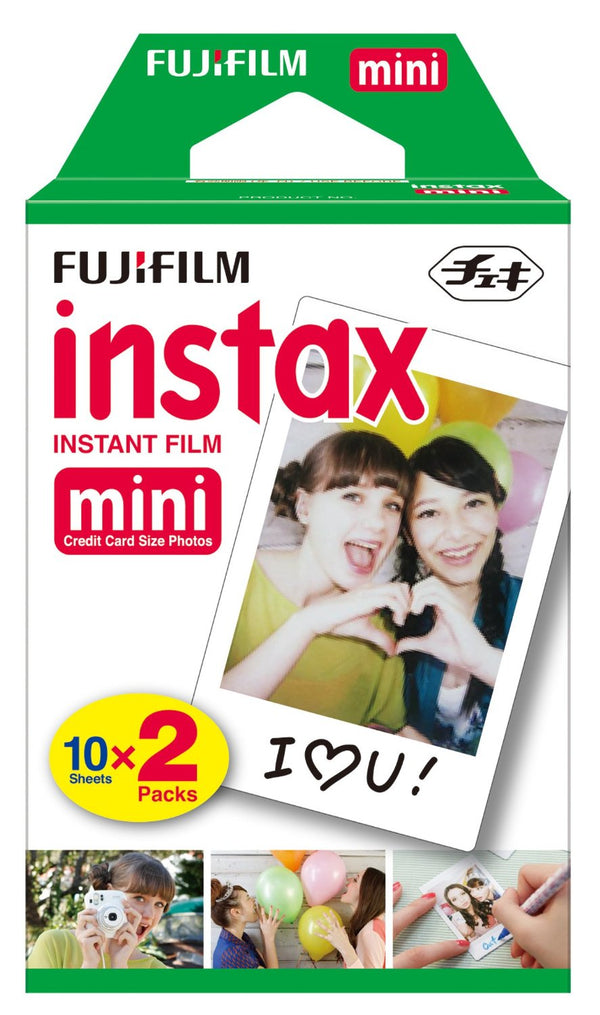 FujiFilm Instax Mini Instant Film Twin Pack (2 X 10 Sheets)