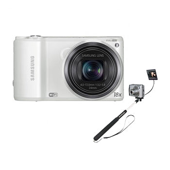 Samsung WB250 Digital Camera with Polaroid Selfie Monopod