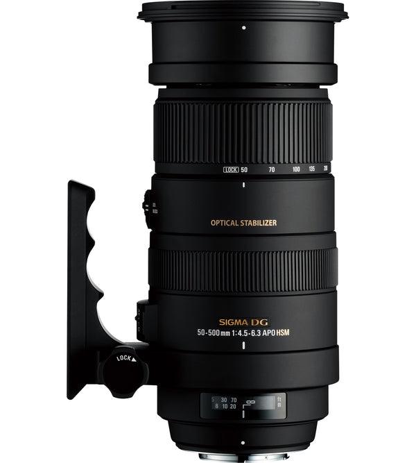 Sigma 50-500mm F4-6.3 DG APO OS HSM Lens for Nikon