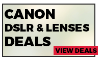 Canon DSLR Cameras Deals