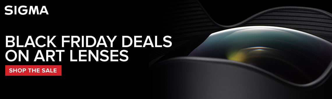 Sigma BLACK FRIDAY Sale. 24 Hours Only.