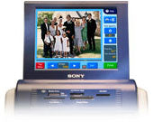 Sony SnapLab LCD screen