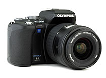 First Look: Olympus Evolt E-500