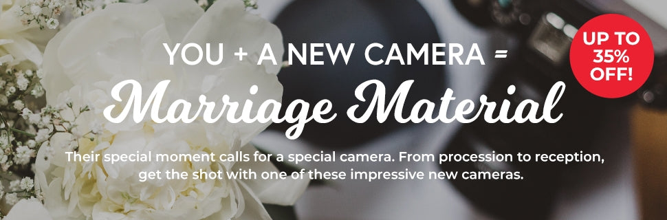 Wedding Photography Camera Deals