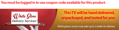 White glove delivery service for Samsung 3D curved TV