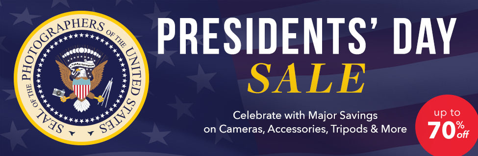 President Day Photography Gear Sale