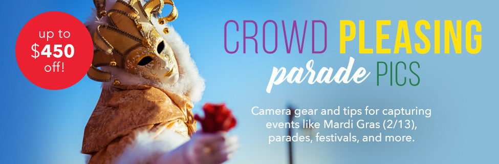 Mardi Gras Photography Tips and Gear