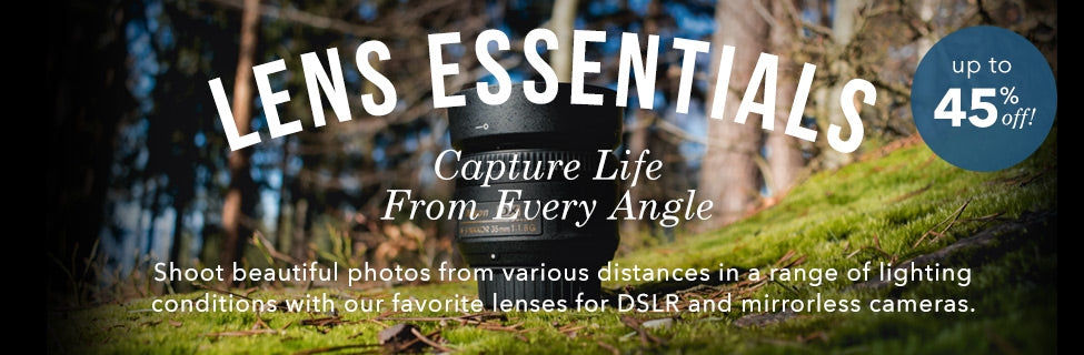 Lens And Photography Gear Sale