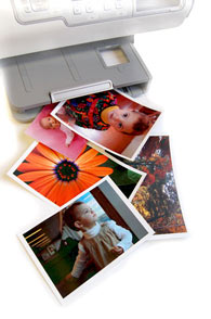 Digital Photo Printer With Photos