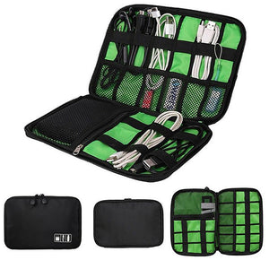 Portable Electronic Accessories Travel Case