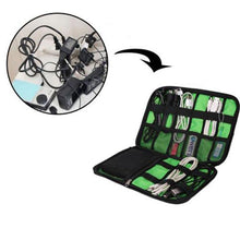 Load image into Gallery viewer, Portable Electronic Accessories Travel Case