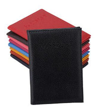 Load image into Gallery viewer, Colorful leather passport covers