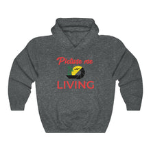 Load image into Gallery viewer, Picture Me Living Logo (Red Letters)