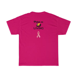October Breast Cancer Awareness LIVING Tee