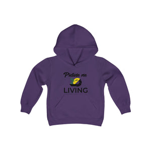 Youth PML color  logo Hoodie