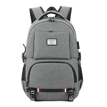 Load image into Gallery viewer, Oxford Backpack (USB Charging)