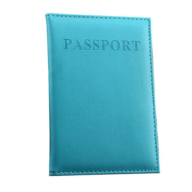 Classy & Colorful Passport and Card Holder