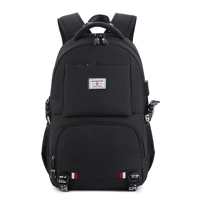 Oxford Backpack (USB Charging)