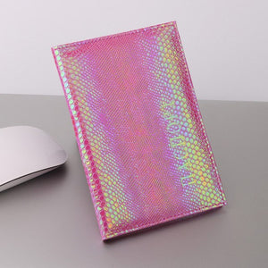 Metallic Passport Cover