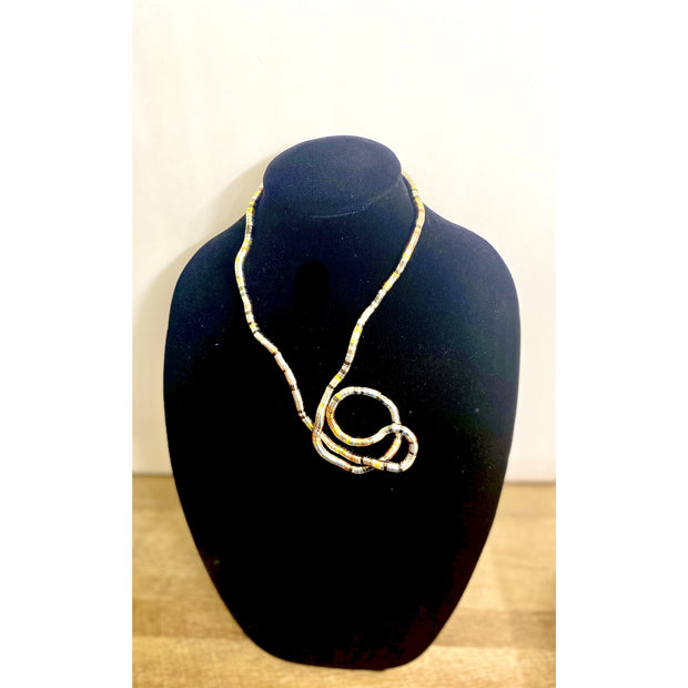 Nyoka (Snake) Bendy Necklace - Goddess House of Glam Boutique