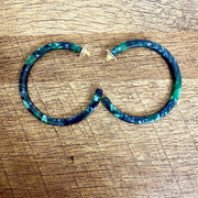 Nairobi Multi-Colored Hoop Earrings - Goddess House of Glam Boutique