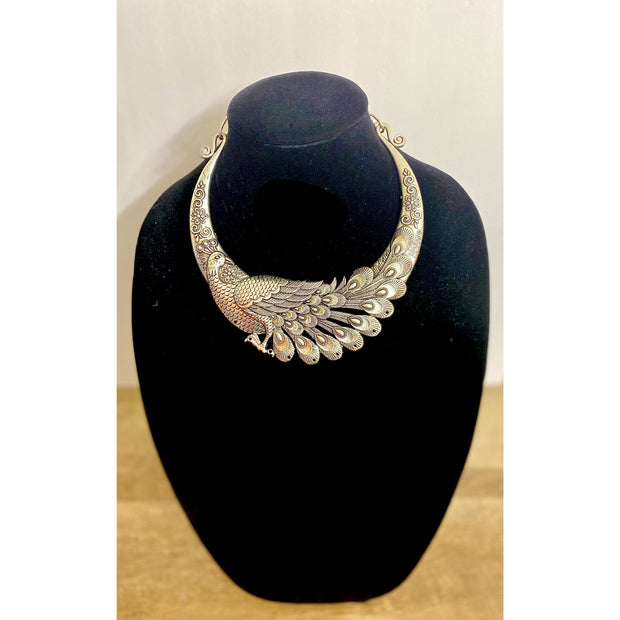 Zara Peacock Necklace
